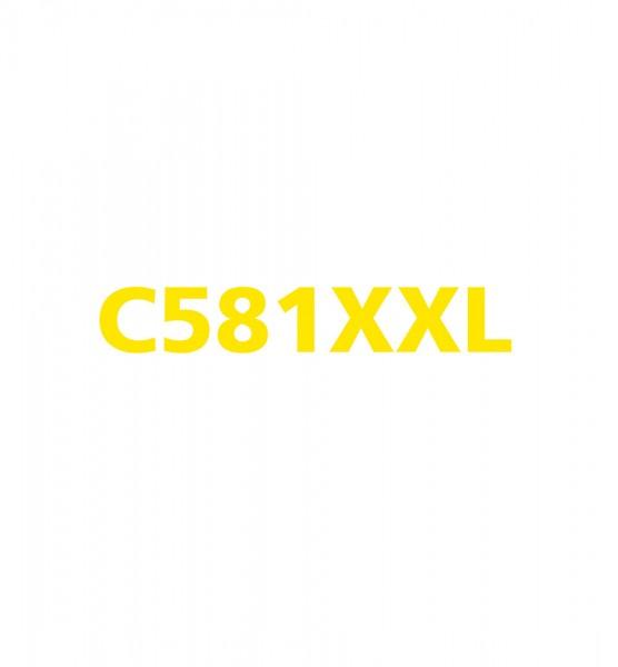 alternative Patrone zu Canon CLI581XXL - Yellow