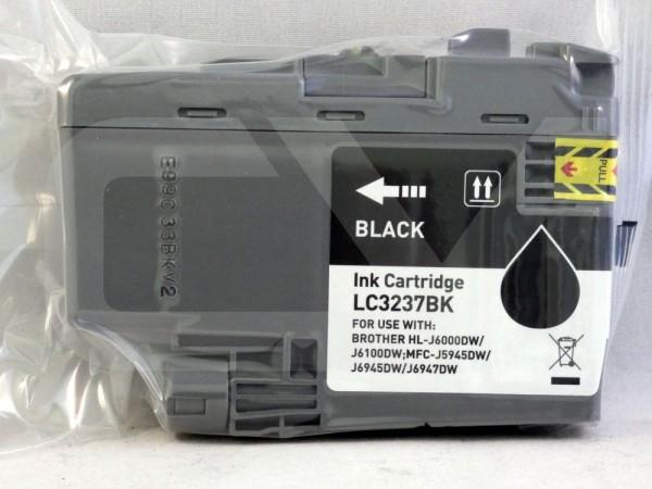 alternative Patrone zu Brother LC-3237 Black