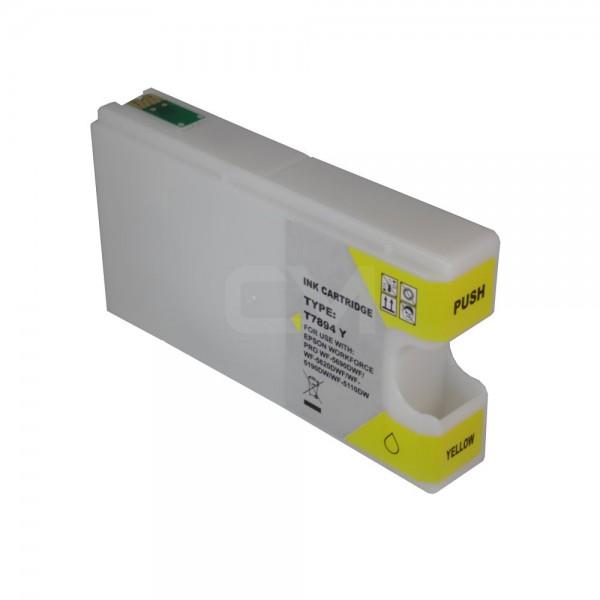 alternative Patrone zu Epson T7894 - Yellow