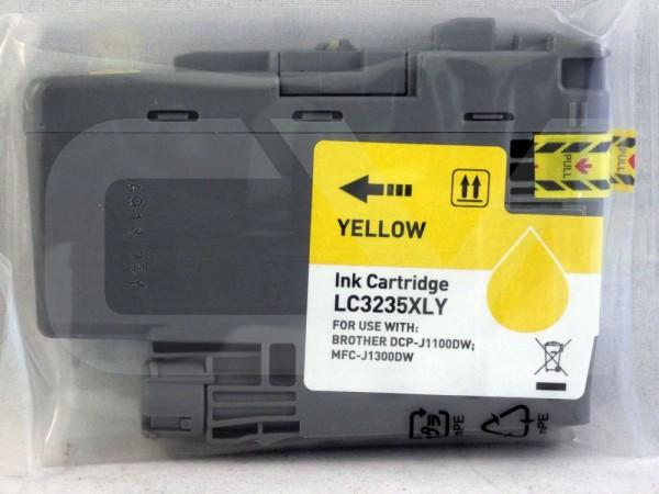 alternative Patrone zu Brother LC-3235XL Yellow